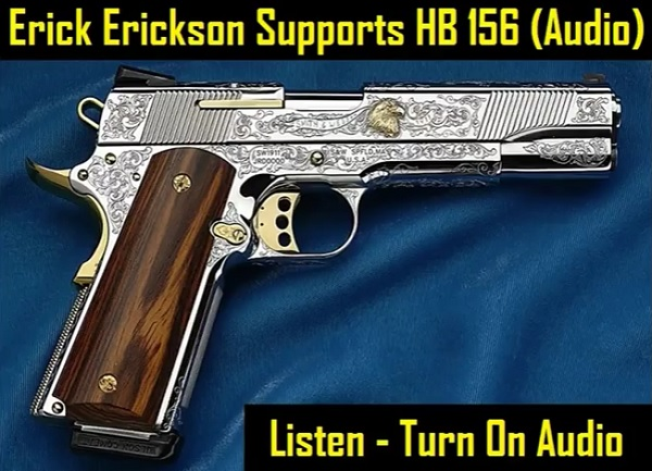 HB 156 - On the radio!