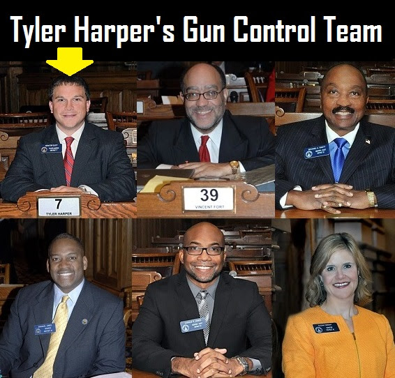 GA Republican Gun Control Bill (SB 99)