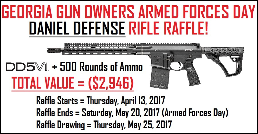 Armed Forces Day Rifle Raffle!