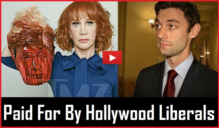 Ossoff: Bought and Paid for by Hollywood Liberals