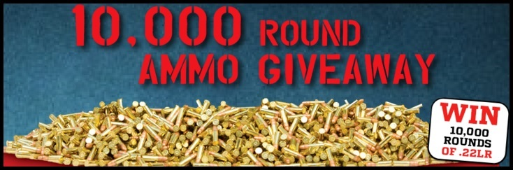 10,000 Round Ammo Giveaway!