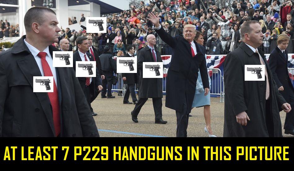 Secret Service Handgun Raffle
