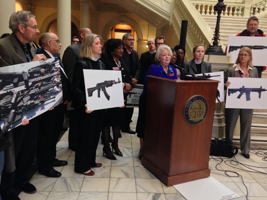 Georgia Dems Introduce Gun Control Bill