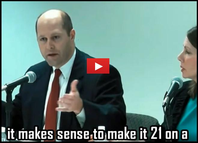 Video: Hunter Hill Supports Gun Control