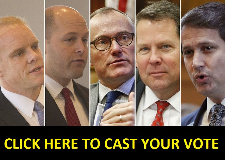 New Governor Poll: Cast Your Vote